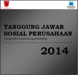 Tanggung Jawab Sosial Perusahaan dari Laporan Tahunan 2014
