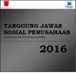 Tanggung Jawab Sosial Perusahaan dari Laporan Tahunan 2016