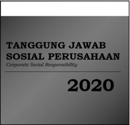Tanggung Jawab Sosial Perusahaan dari Laporan Tahunan 2020